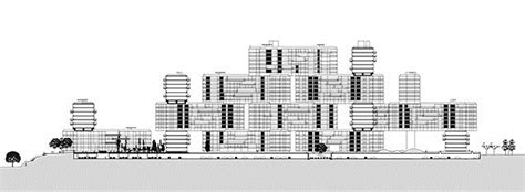 building site plan the interlace in singapore by oma ole scheeren buildings