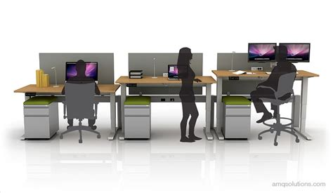 adjustable desk height active 1 electric height adjustable tables by amq