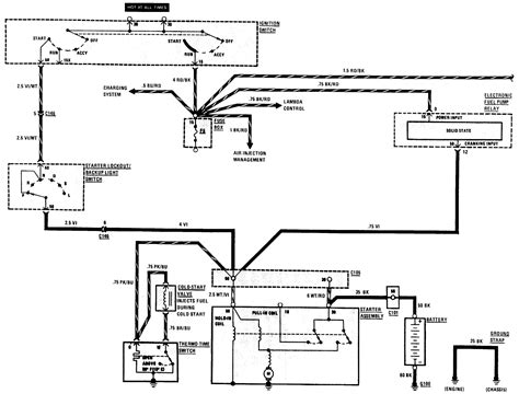 1985 Mercede Fuel System Diagram by Where Is The Fuse For The Fuel On A 1981 Mbz 380sl