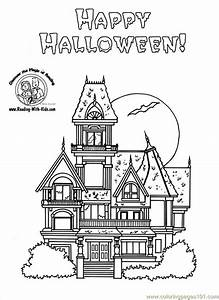Coloring Pages Haunted House Coloring Pages (Architecture ...