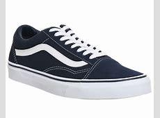 Vans Old Skool Dress Blue White Unisex Sports