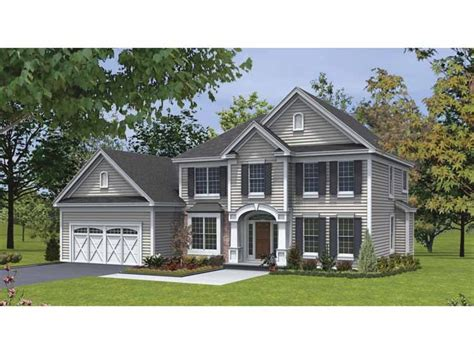 traditional house plans two cottage house plans