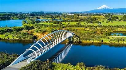 Plymouth Zealand Rewa Bridge Te Nz Taranaki