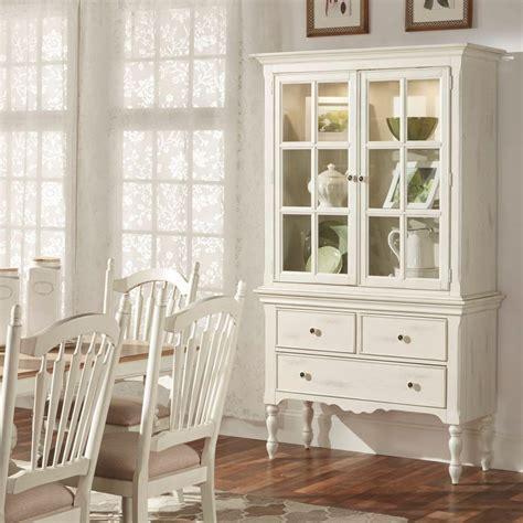 white china cabinet homesullivan margot touch light wood china cabinet in