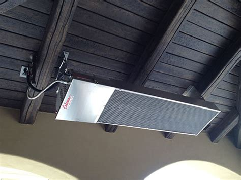 ceiling and wall mounted patio gas heaters radiant heat