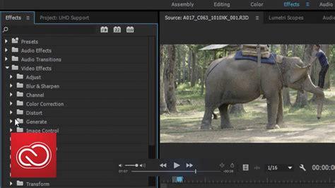 ultrahd format support adobe premiere pro cc adobe creative cloud