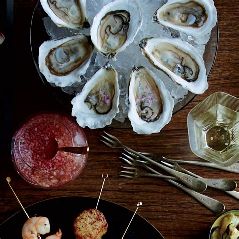 oysters with cava mignonette recipe matt
