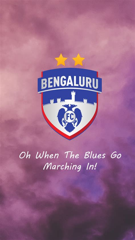 bengaluru fc  pure  ultra hd mobile wallpaper