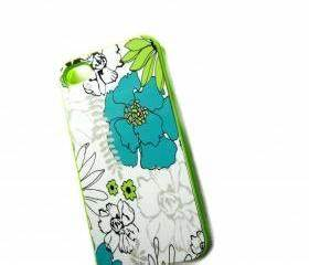 IPhone 4 IPhone 4S Case Neon Green Plastic Case With