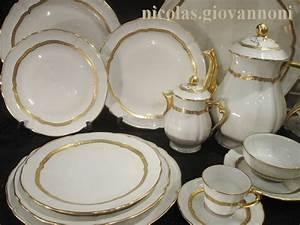 Service Vaisselle Porcelaine : service de table jammet seignolles ~ Teatrodelosmanantiales.com Idées de Décoration