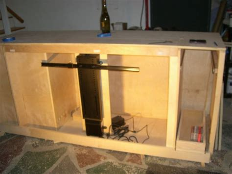 home automation pop up tv lift how to a tv lift cabinet