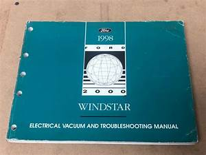 1998 Ford Windstar Electrical Wiring Diagram  U0026 Vacuum