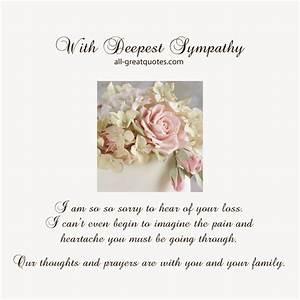 #deepestsympathy #sympathy #condolences SEE ALL - Free ...