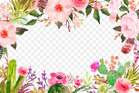 flower clip art purple fresh flowers border texture