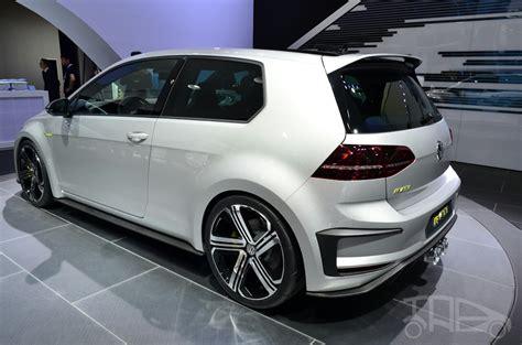 Volkswagen Golf R 400 Concept Rear Three Quarters Indian