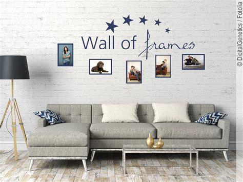 Wandtattoo Mit Fotorahmen by Wandtattoo Fotorahmen Wall Of Frames Wandsticker