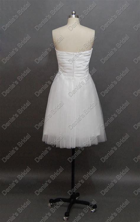 discount  short beach wedding dresses sweetheart