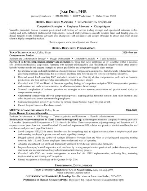 sle resume of hr generalist performance evaluation circle linkedin circle 100 appointment letter hr manager