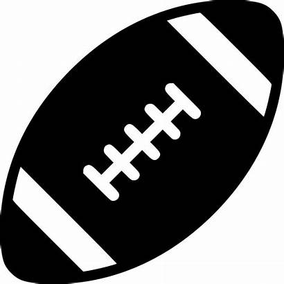 Svg Football Icon Downloads Onlinewebfonts Silhouette