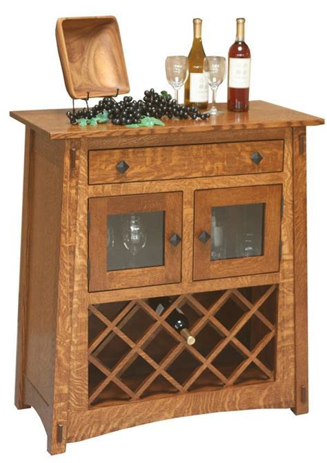 outdoor kitchens cabinets amish mccoy wine server from dutchcrafters 1310