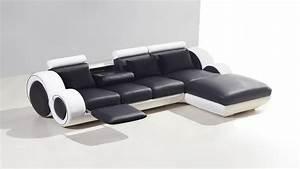 Canapé D Angle 5 Places : canap d 39 angle cuir 3 places 5 places canap d 39 angle cuir ~ Teatrodelosmanantiales.com Idées de Décoration