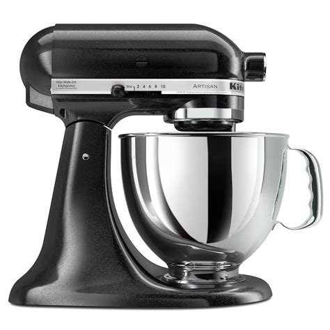 kitchenaid artisan mixer caviar stand quart kitchen mixers attachments recipes series silver amazon aid ka worldwide works steal bowl posts