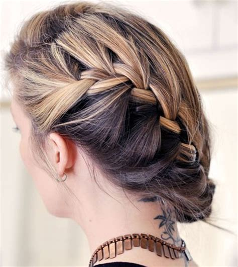elegant  beautiful french braid ideas