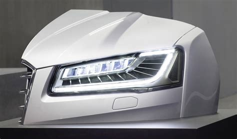 audi matrix headlights there s a bright idea audi working to combine matrix beam