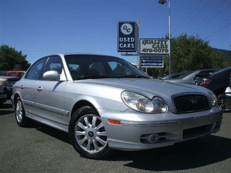 2005 Hyundai Sonata Gas Mileage by 2005 Hyundai Sonata Fwd 4dr Sport Details Grants Pass Or