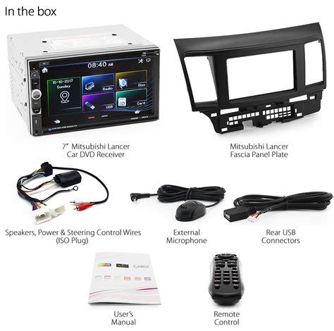2011 Mitsubishi Lancer Wiring Harnes by Car Dvd Player For Mitsubishi Lancer Cj Stereo Radio Cd
