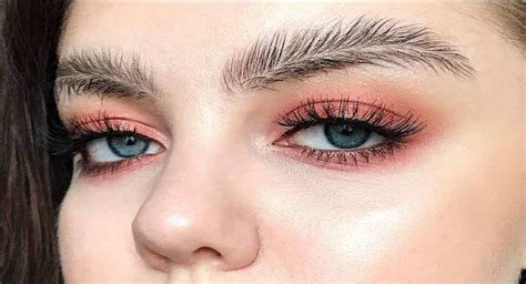 feathered eyebrows   instagram beauty sensation