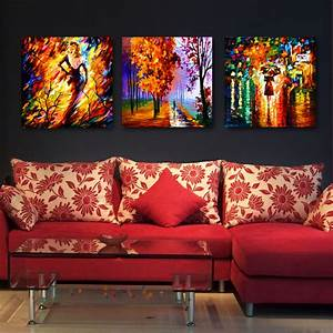 25, Creative, Canvas, Wall, Art, Ideas, For, Living, Room