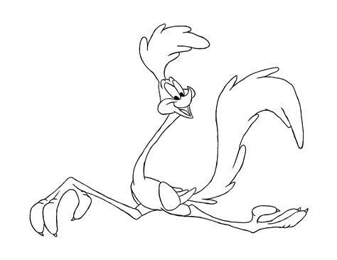 How To Draw The Road Runner 12 Steps With Pictures