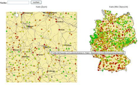 lpg preisverteilung  deutschland lpg karte autogas