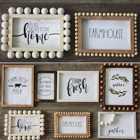 bethany  instagram atdollartree tabletop wood decor diy