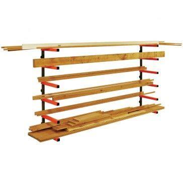 portamate lumber rack system  tier workshop lumber