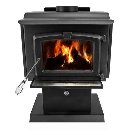 pleasant hearth  sq ft epa certified wood burning