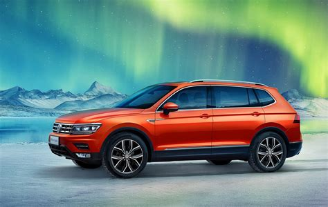 Volkswagen Tiguan Allspace 7-seater Revealed In Chinese