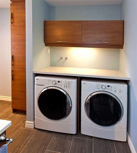 cuisine stratifié salle de lavage contemporaine griffe cuisine
