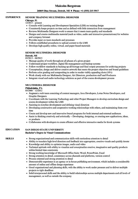 multimedia specialist sle resume agricultural engineer