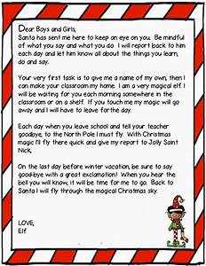 time 4 kindergarten the elf has arrived With elf on the shelf class letter