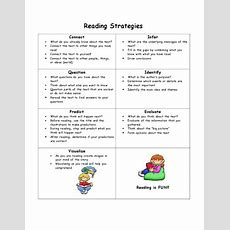 1000+ Images About Reading Strategies On Pinterest  Long Vowels, Bookmarks And Literacy