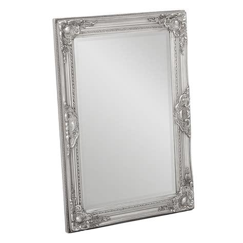 spiegel barock silber spiegel leandos barock silber antik 70x50cm 3414