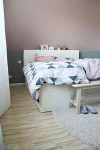 Schlafzimmer Rosa Grau : die 25 besten ideen zu wandfarbe schlafzimmer auf pinterest grau blau schlafzimmer navy blau ~ Frokenaadalensverden.com Haus und Dekorationen