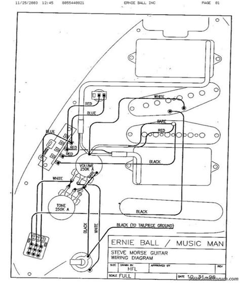 steve morse wiring luthieria guitars bass