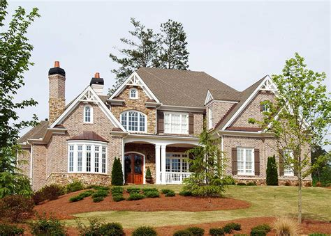 Hip Roof French Country House Plan