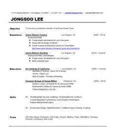 view resume exles free view sle resume