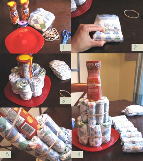 different of cakes to make do it yourself a quot unique quot diaper cake step by step blog
