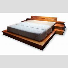 Platform Bed Large Mark Love Custom Furniture, Custom