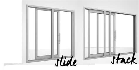 stacking sliding doors photo album woonv handle idea
